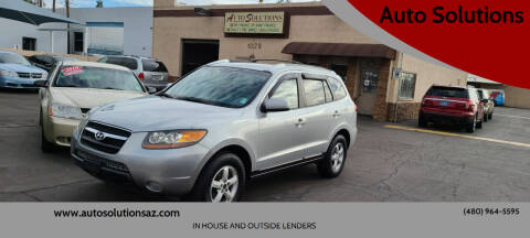 2007 Hyundai Santa Fe for sale at Auto Solutions in Mesa AZ