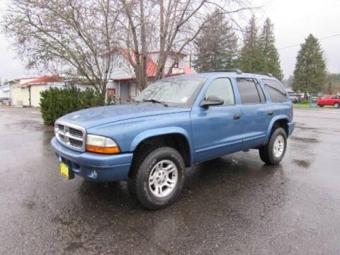 2002 Dodge Durango for sale at Triple C Auto Brokers in Washougal WA
