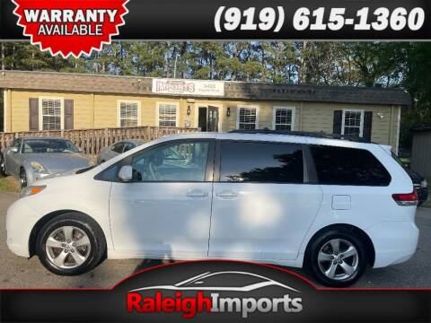 2014 Toyota Sienna for sale at Raleigh Imports in Raleigh NC