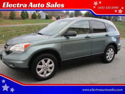 2011 Honda CR-V for sale at Electra Auto Sales in Johnston RI