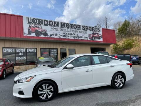 2020 Nissan Altima for sale at London Motor Sports, LLC in London KY