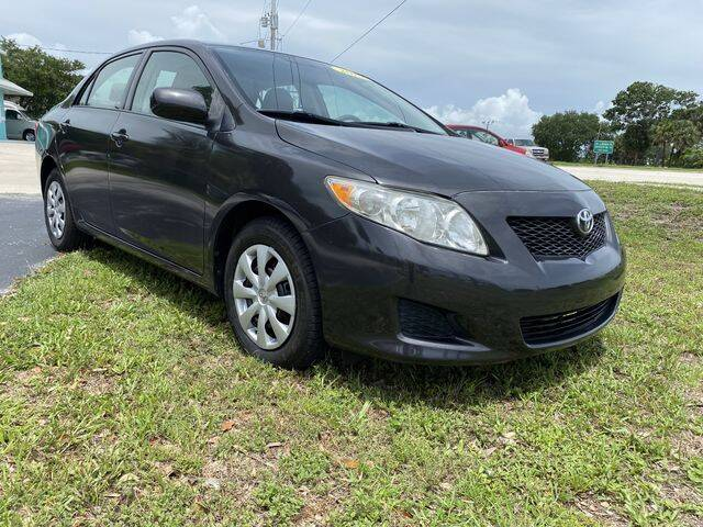 2010 Toyota Corolla for sale at Palm Bay Motors in Palm Bay FL