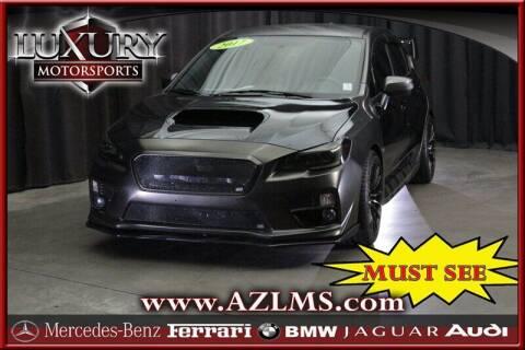 2017 Subaru WRX for sale at Luxury Motorsports in Phoenix AZ
