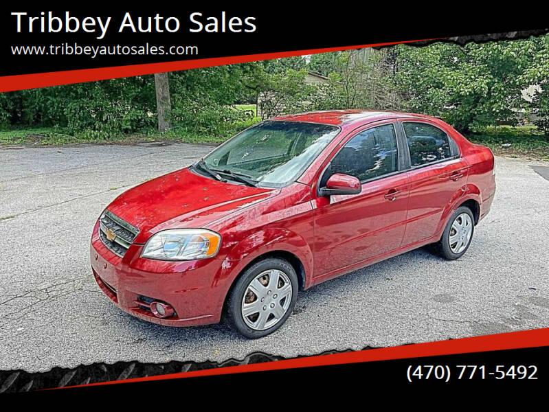 2011 Chevrolet Aveo for sale at Tribbey Auto Sales in Stockbridge GA
