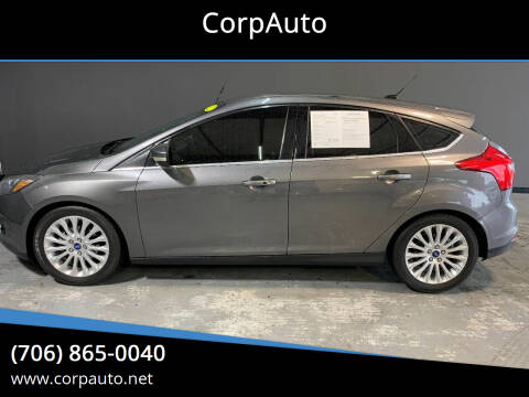 2012 Ford Focus for sale at CorpAuto in Cleveland GA
