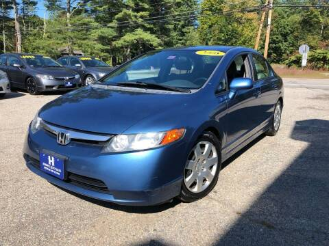 2008 Honda Civic for sale at Hornes Auto Sales LLC in Epping NH