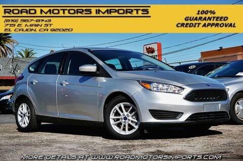 2018 Ford Focus for sale at Road Motors Imports in El Cajon CA