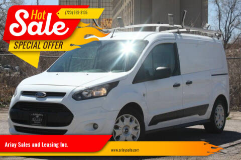 2015 Ford Transit Connect Cargo for sale at Ariay Sales and Leasing Inc. - Pre Owned Storage Lot in Glendale CO
