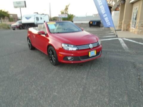 2013 Volkswagen Eos for sale at Team D Auto Sales in Saint George UT