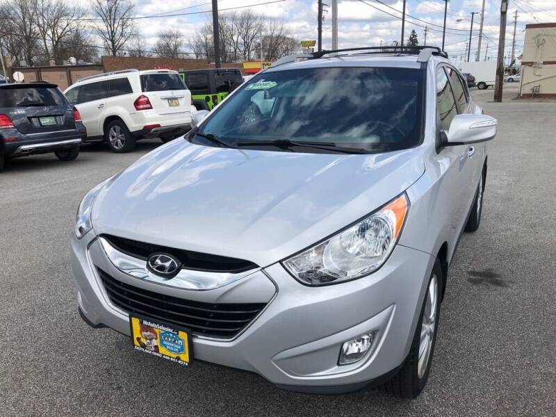 2013 Hyundai Tucson for sale at MR Auto Sales Inc. in Eastlake OH