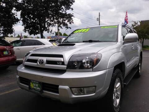 2005 Toyota 4Runner for sale at Oak Hill Auto Sales of Wooster, LLC in Wooster OH