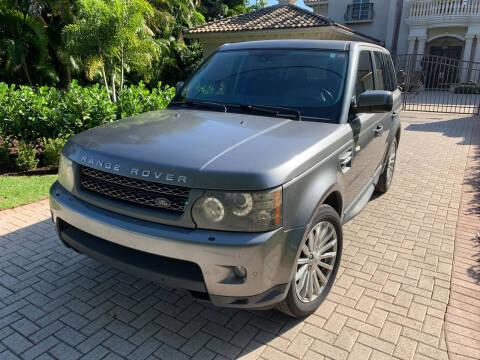 2011 Land Rover Range Rover Sport for sale at SODA MOTORS AUTO SALES LLC in Newport RI