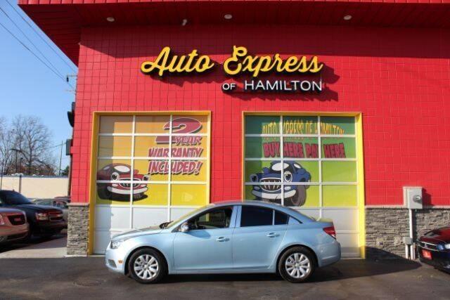 2011 Chevrolet Cruze for sale at AUTO EXPRESS OF HAMILTON LLC in Hamilton OH