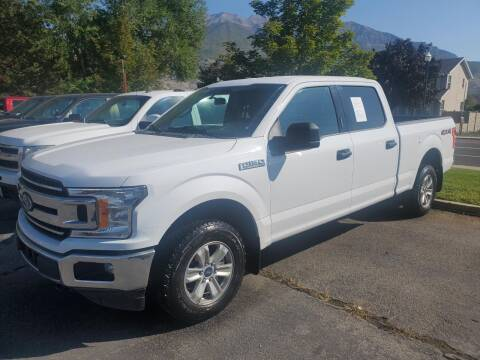 2019 Ford F-150 for sale at Curtis Auto Sales LLC in Orem UT