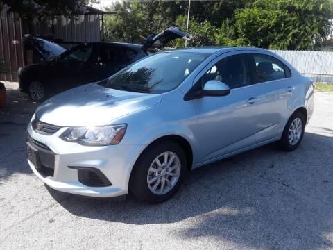 2017 Chevrolet Sonic for sale at RICKY'S AUTOPLEX in San Antonio TX