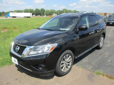 2013 Nissan Pathfinder for sale at KAISER AUTO SALES in Spencer WI