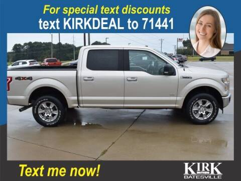 2017 Ford F-150 for sale at Kirk Brothers Batesville in Batesville MS