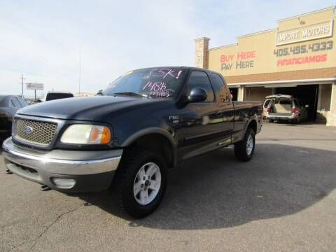 2003 Ford F-150 for sale at Import Motors in Bethany OK