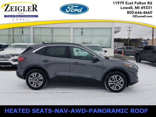 2021 Ford Escape for sale at Zeigler Ford of Plainwell- Jeff Bishop in Plainwell MI