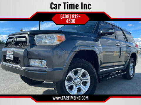 2011 Toyota 4Runner for sale at Car Time Inc in San Jose CA