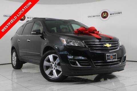 2015 Chevrolet Traverse for sale at INDY'S UNLIMITED MOTORS - UNLIMITED MOTORS in Westfield IN