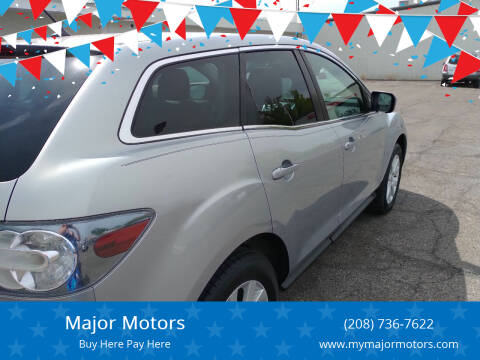 2008 Mazda CX-7 for sale at Major Motors in Twin Falls ID