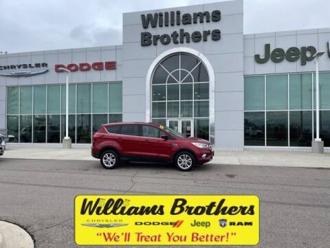 2019 Ford Escape for sale at Williams Brothers - Pre-Owned Monroe in Monroe MI