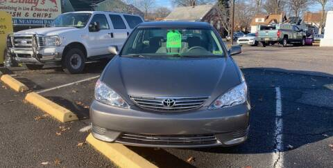 2005 Toyota Camry for sale at Frank's Garage in Linden NJ