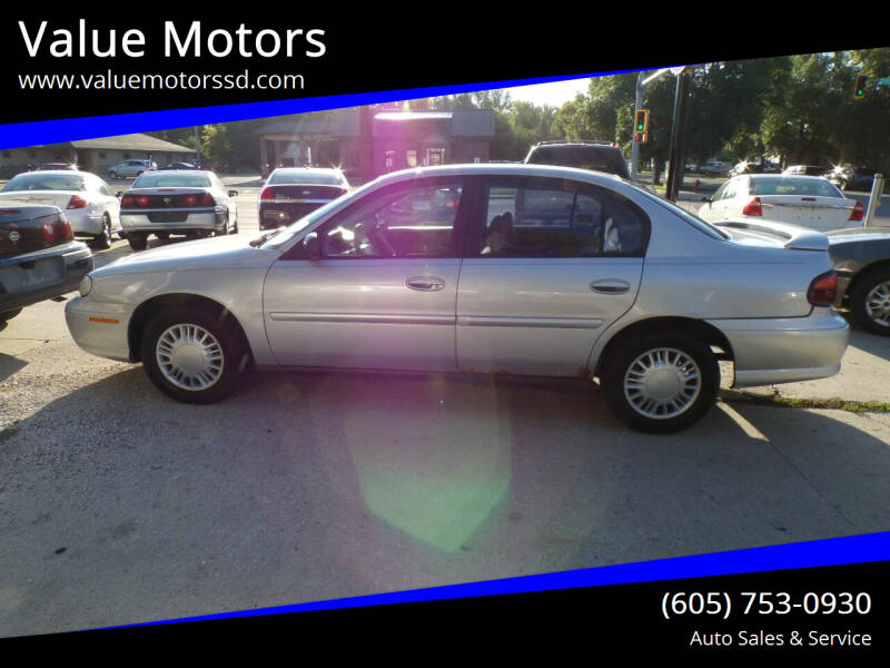 2005 Chevrolet Classic for sale at Value Motors in Watertown SD