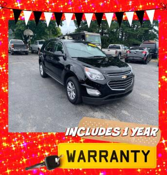 2017 Chevrolet Equinox for sale at LAUER BROTHERS AUTO SALES in Dover PA