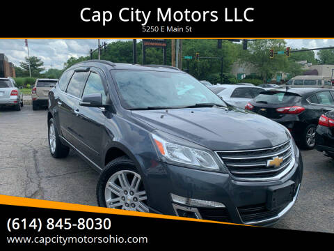 2013 Chevrolet Traverse for sale at Cap City Motors LLC in Columbus OH