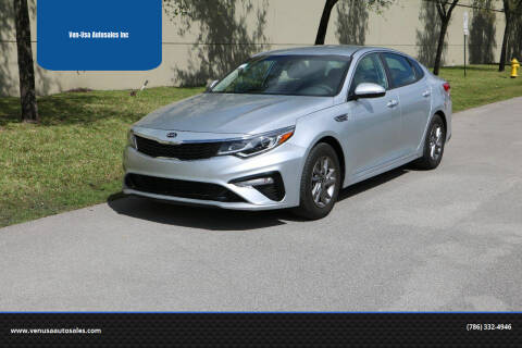 2019 Kia Optima for sale at Ven-Usa Autosales Inc in Miami FL