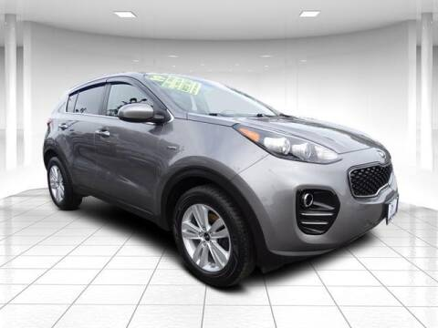 2019 Kia Sportage for sale at Sandy Motors Inc in Coventry RI