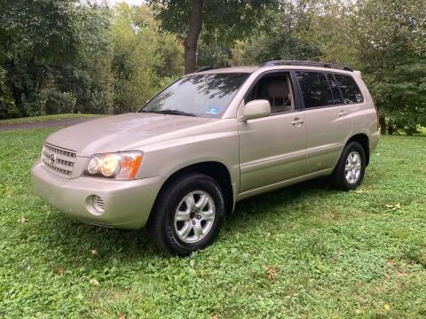 2002 Toyota Highlander for sale at Michaels Used Cars Inc. in East Lansdowne PA