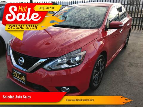 2019 Nissan Sentra for sale at Soledad Auto Sales in Soledad CA