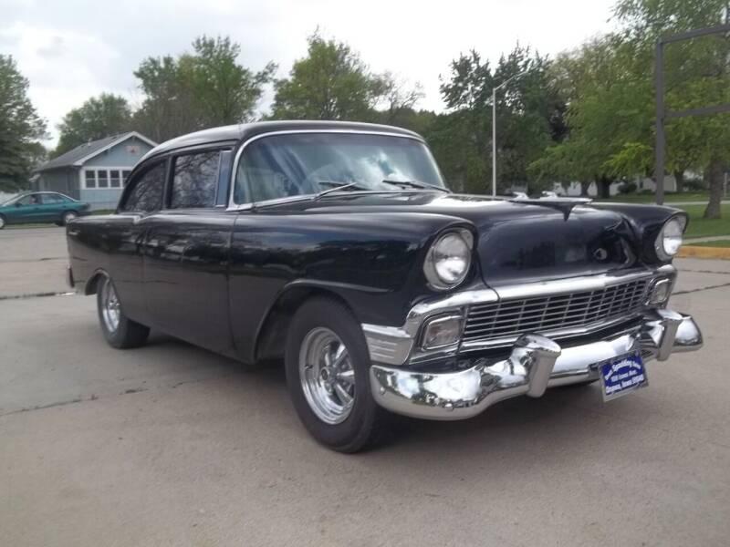 1956 Chevrolet Bel Air for sale at BRETT SPAULDING SALES in Onawa IA
