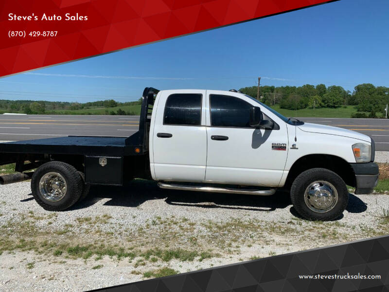 2009 Dodge Ram Pickup 3500 for sale at Steve's Auto Sales in Harrison AR