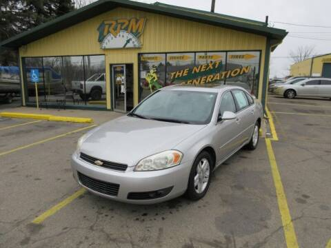 2006 Chevrolet Impala for sale at RPM AUTO SALES in Lansing MI
