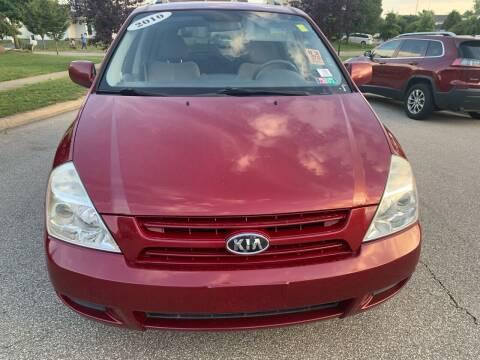 2010 Kia Sedona for sale at Via Roma Auto Sales in Columbus OH