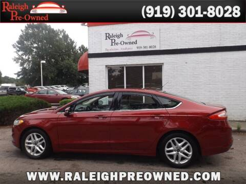 2014 Ford Fusion for sale at Raleigh Pre-Owned in Raleigh NC