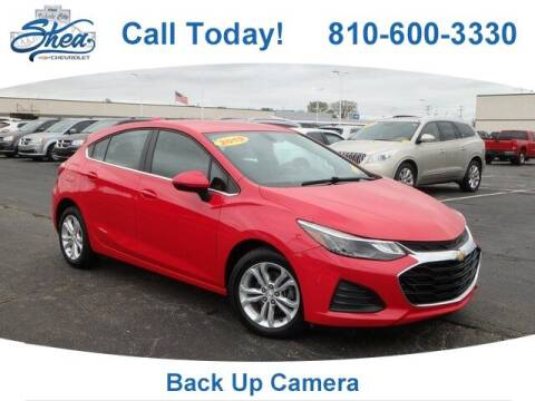 2019 Chevrolet Cruze for sale at Erick's Used Car Factory in Flint MI