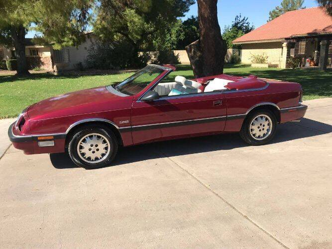 1989 Chrysler Le Baron for sale at Classic Car Deals in Cadillac MI