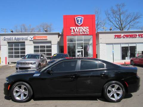 2015 Dodge Charger for sale at Twins Auto Sales Inc in Detroit MI