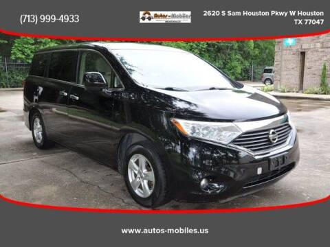 2013 Nissan Quest for sale at AUTOS-MOBILES in Houston TX