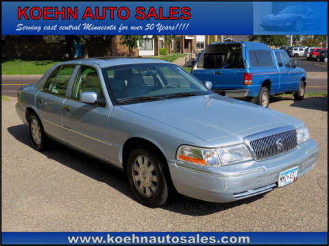 2005 Mercury Grand Marquis for sale at Koehn Auto Sales in Lindstrom MN