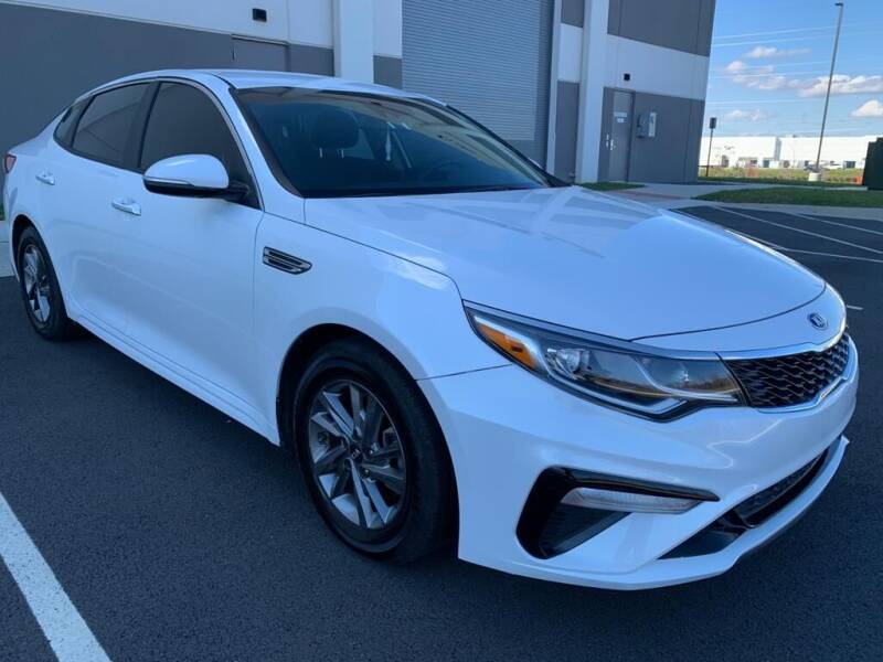 2019 Kia Optima for sale at Dulles Cars in Sterling VA