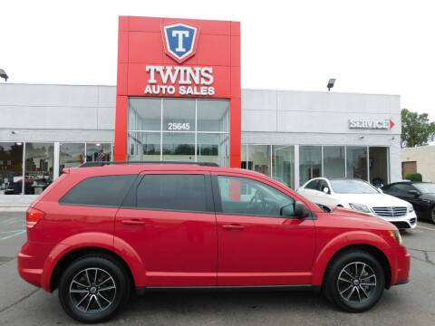 2018 Dodge Journey for sale at Twins Auto Sales Inc Redford 1 in Redford MI