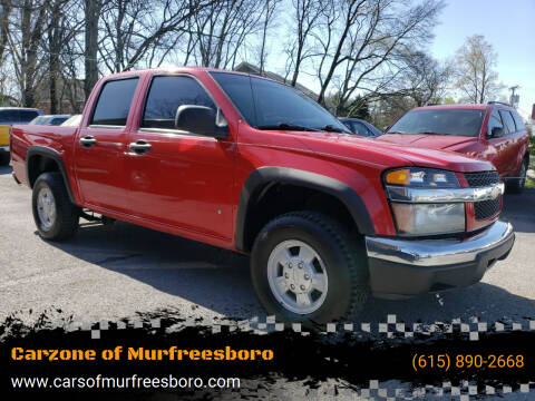 Chevrolet Colorado For Sale In Murfreesboro Tn Carzone Of Murfreesboro