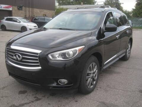 2015 Infiniti QX60 for sale at ELITE AUTOMOTIVE in Euclid OH