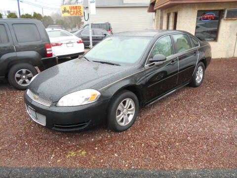 2013 Chevrolet Impala for sale at MARANO MOTORS INC in Sewaren NJ